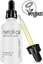 Olio di Neroli - Vegano, Senza Crudeltà, Biologico, Fatto a Mano - Puro al 100% Olio Essenziale di Neroli di Grado Terapeutico & Alta Qualità - Pressato a Freddo & Non Diluito, 30ml