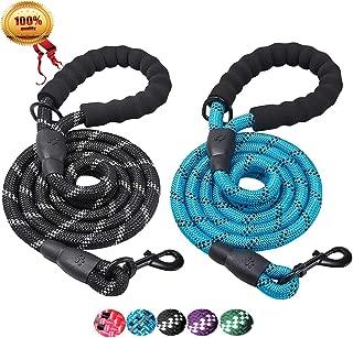 paracord dog leash round braid