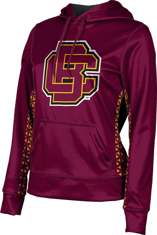 ProSphere Bethune-Cookman University Girls' Pullover Hoodie, School Spirit Sweatshirt (Geometric)