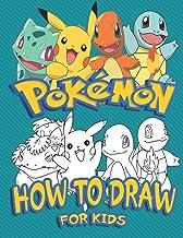 Hur man drar pokémon för barn: Lär dig att rita din favourite pokémon gokaraktär (Unofficial)