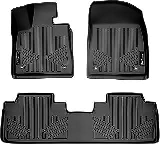 SMARTLINER Custom Fit Floor Mats 2 Row Liner Set Black for 2016-2021 Lexus RX (All Models) / 2018-2021 RXL (All Models)