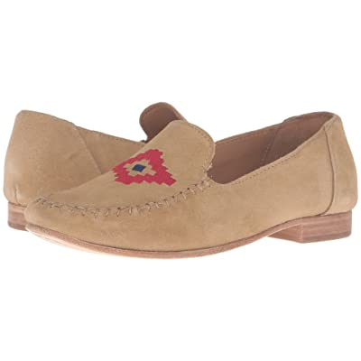 Soludos Loafer Embroidered (Stone Suede) Women