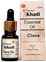 Khadi Omorose Clove Bud Essential Oil - 100% Pure, Natural & Undiluted - 12 ML