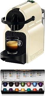 Nespresso De'Longhi Inissia EN80.CW - Cafetera monodosis de cápsulas Nespresso, 19 bares, apagado automático, color crema,...