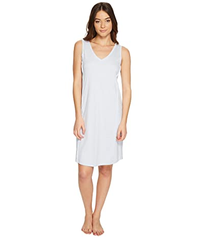 Hanro Pure Essence Tank Gown (Blue Glow) Women