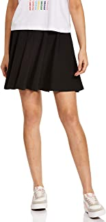 Sponsored Ad - Stylore Women's Basic Versatile Stretchy Casual Mini Skater Skirt