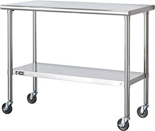 Best rolling counter table Reviews