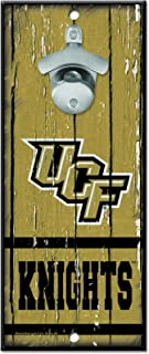 WinCraft NCAA Central Florida Golden Knights Wood Bottle Opener Sign, 5
