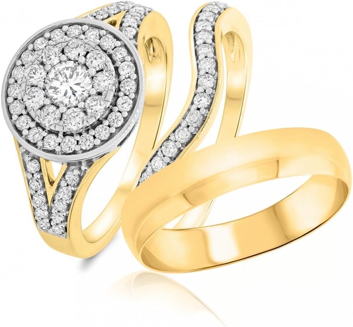 Silvercartvila 1 Ct Sim Diamond Engagement Mens Ladies Ring Fashion Directly managed store Tr