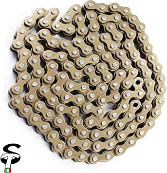 catena per moto adatta per 90 110 125cc Dirt Bike ATV Quad TaoTao SUNL cinese Qiilu 420 102 Catena per maglie moto