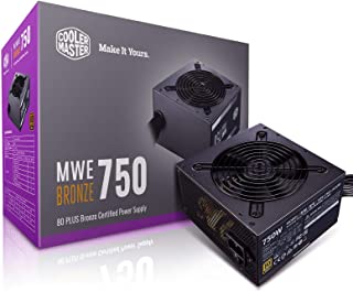 Cooler Master MWE 750W ATX PSU 80 PLUS Bronze Power Supply