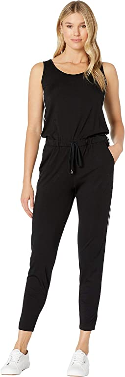 683dbbc97a4b9c Lauren ralph lauren striped satin jumpsuit | Shipped Free at Zappos