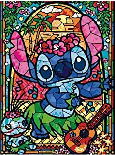 DIY Paint by Numbers for Adults Kids Paint by Numbers DIY Painting Acrylic Paint by Numbers Painting Kit Lilo Stitch Home Wall Living Room Bedroom Decoration Lilo and Stitch
