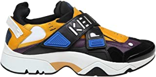 KENZO Men's F955SN351L5241 Orange Suede Sneakers