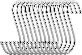 vipith 20unidades Metal en forma de S de acero
