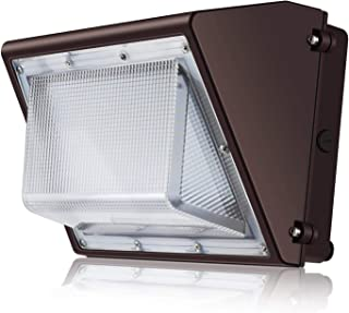 SOLLA 80W LED Wall Pack Light Fixture, 9200LM IP65 Waterproof, 100-277V AC, 280-350W HPS/HID/MH Replacement, 5000K, Commercial and Industrial Outdoor Lighting, DLC & ETL-Listed, 5 Year Warranty