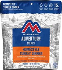 Mountain House Homestyle Turkey Dinner | Freeze Dried Backpacking & Camping Food