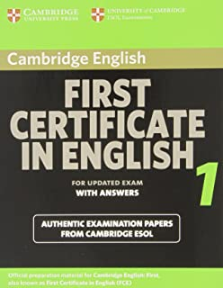 Cambridge First Certificate in English 1: With Answers (FCE Practice Tests)