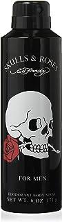 Ed Hardy Skulls and Roses Aero Body Spray Duo M, 6.0 Ounce