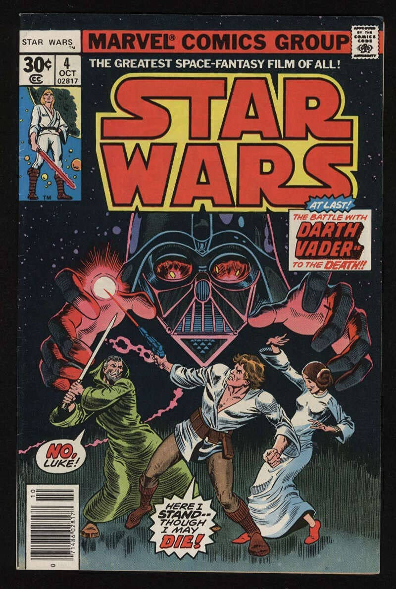 Star Purchase Wars #4 Fine VF Ranking TOP16 7.0 OW New Hope Pgs Newss Adaptation A 1977