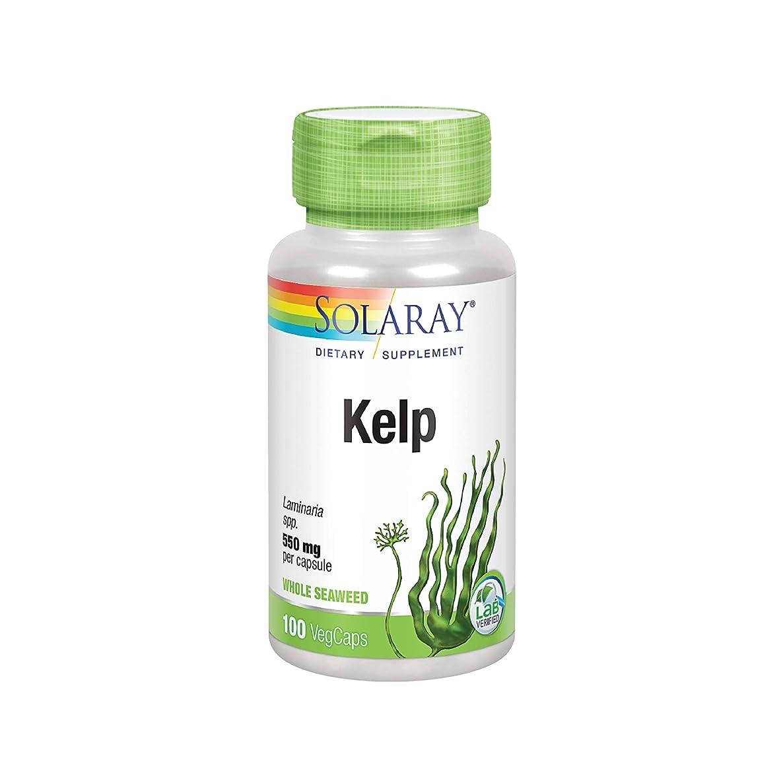 Solaray Kelp with Folic Acid 550 mg 100 Capsules