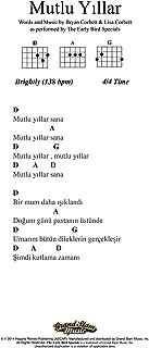 Happy Birthday - Lead Sheet - Turkish
