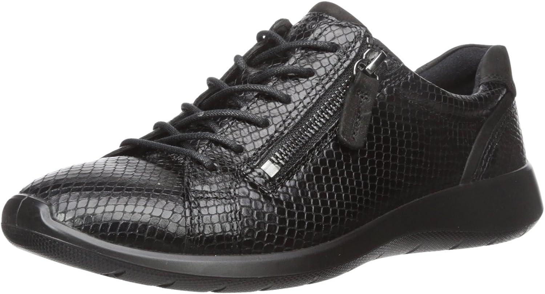 ECCO Womens Soft 5 Zip Fashion Sneaker