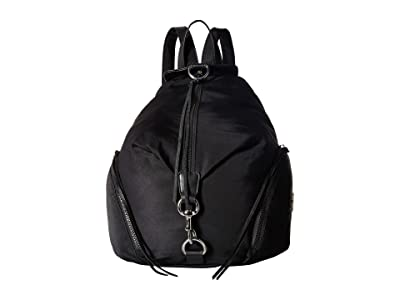 Rebecca Minkoff Julian Nylon Backpack (Black 1) Backpack Bags