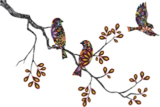 My Wonderful Walls Birds and Branch Decal Wall Sticker Direction, Left-Facing