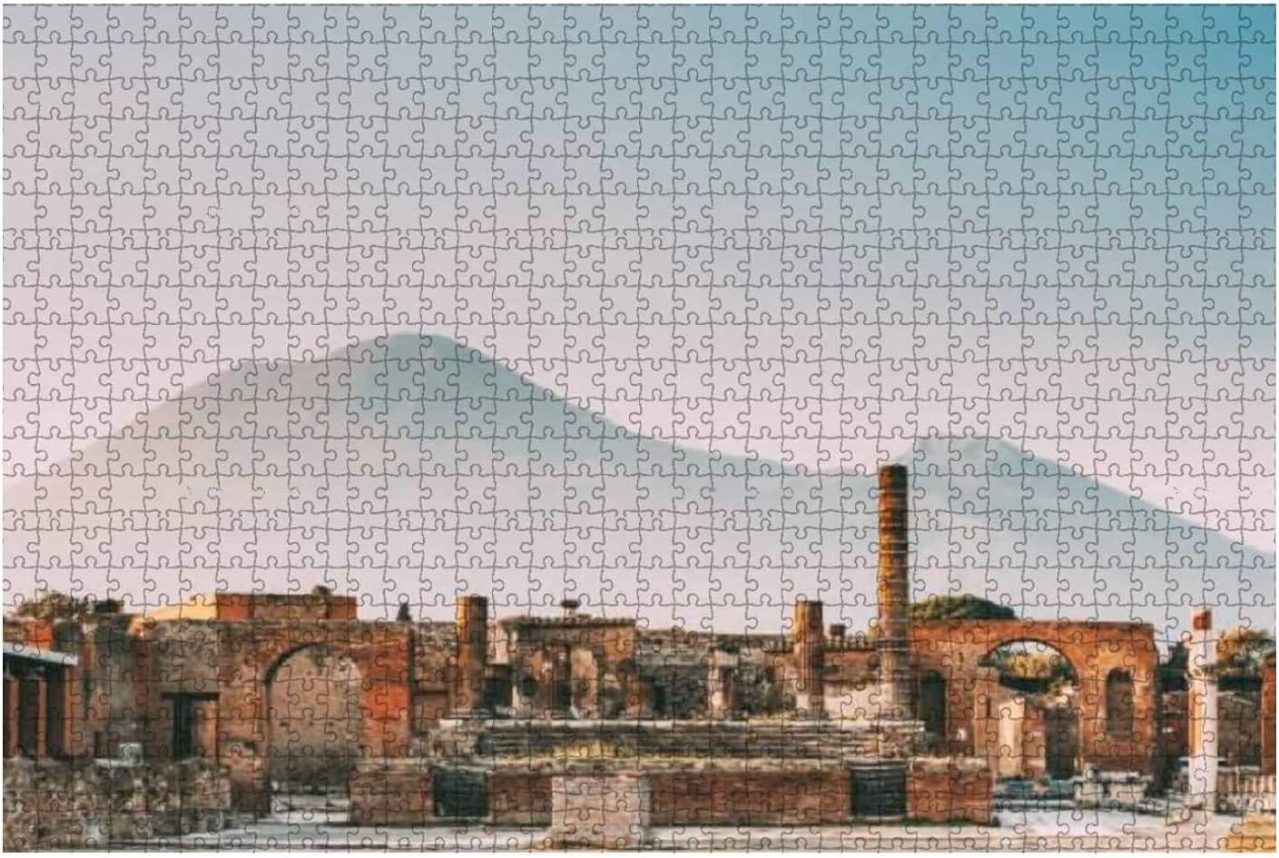 1000 Pieces-Pompeii Italy Temple of Or Ranking TOP16 Tem Capitolium Jupiter Sales for sale