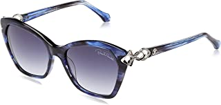 ROBERTO CAVALLI Unisex Adults' RC1077 92W 55 Optical Frames, Blue (BLU