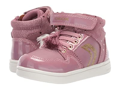 Geox Kids Djrock 31 (Toddler) (Dark Pink) Girls Shoes