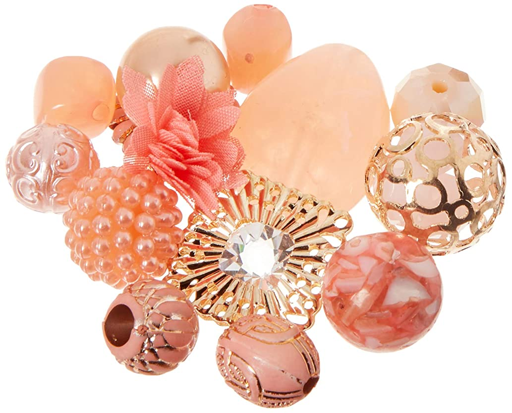 Jesse James Beads 10356 Life's A Peach Inspiration Beads, Pink