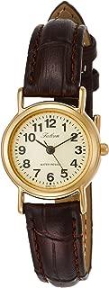 Citizen 西铁城 Q&Q 腕表 Falcon 指针式 皮革表带 金色 QA63-103 女款