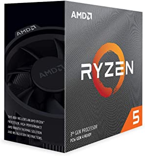 AMD Ryzen 5 3600 with Wraith Stealth cooler 3.6GHz 6コア / 12スレッド 35MB 65W 100-100000031BOX 三年保証 [並行輸入品]