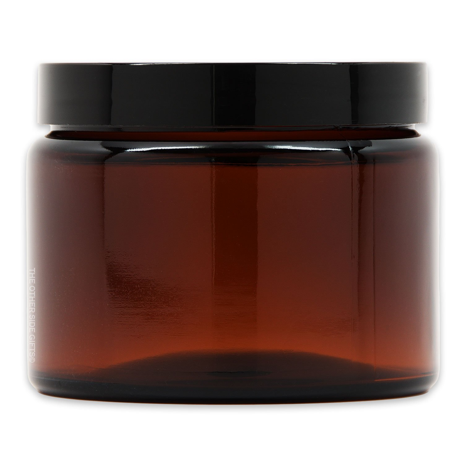 X-Large Amber Safety and trust Glass Storage Gifts Air-Tight Lid with Jar