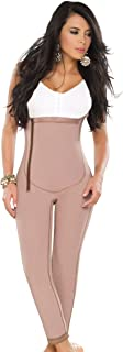Fajas Dprada 11022 Free-bust Girdle w/ Side Zipper - Fajas Colombianas,Cocoa-optic,3XL (Fits 42-43 Inch Waist)