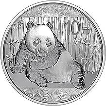 2015 China 1 oz Silver Panda 10 YUAN 999 Silver Brilliant Uncirculated