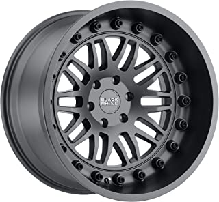 "Black Rhino Fury Custom Wheel - Matte Gunmetal 18"" x 9.5"", -18 Offset, 5x127 Bolt Pattern, 71.6mm Hub"