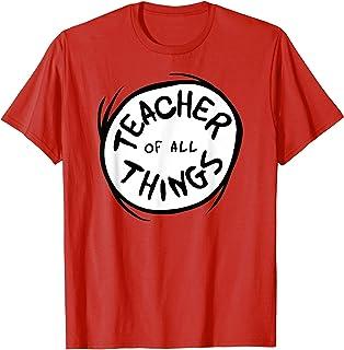 Teacher of all Things Emblem RED T-shirt T-Shirt