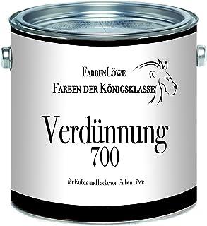 Farben Löwe Alkydharzverdünnung 700 - Spezialverdünnung extra für Farben und Lacke von Farben Löwe 1 L