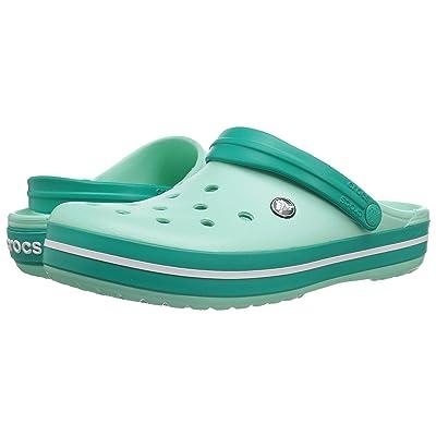 Crocs Crocband Clog (New Mint/Tropical Teal 1) Clog Shoes
