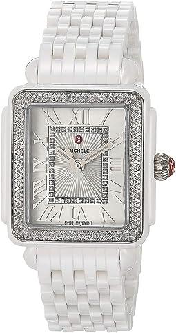 Deco Madison Mid Diamond - White Ceramic