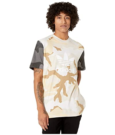 adidas Originals Camo Mix Tee (Multicolor) Men
