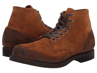 Frye Prison Boot (Wheat Oiled Suede) Men