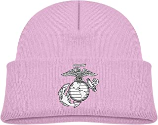 Eagle Globe Anchor USMC Marine Corps Unisex Baby Beanie Hat Toddler Infant Newborn Soft Knit Cap