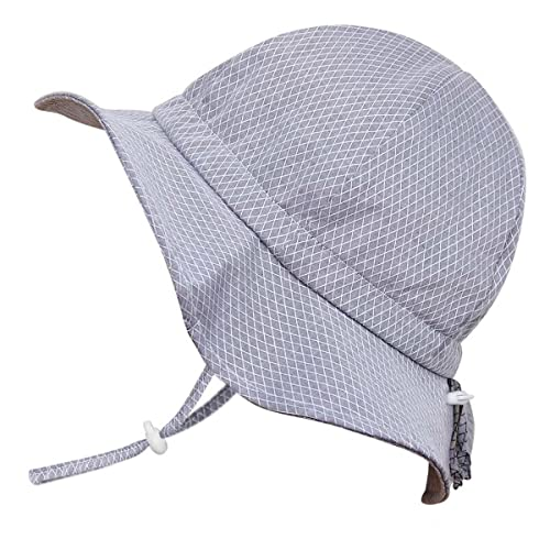 Amazon.com  Baby Toddler Kids Breathable Cotton Sun Hat 50 UPF ... d3ae63ca44bd