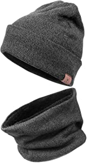 Winter Daily Beanie Stocking Hat - Warm Polar Fleece...