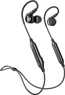 MEE audio M6B Bluetooth Wireless Sports In-Ear Earbud Headphones , Black - EP-M6B-BK-MEE