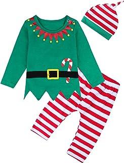 مجموعة أزياء عيد الميلاد للأطفال بأكمام طويلة من COSLAND